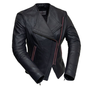 Trish | Women's Leather Jacket - Stofma  Hub