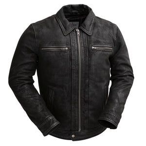 Austin | Men's Leather Jacket - Stofma  Hub