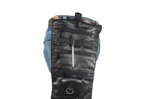 Leather Thigh Fanny Pack With Gun Pocket