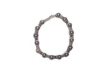 Motorcycle Brushed Stainless Steel Chain Bracelet - Stofma  Hub