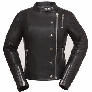 Warrior Princess | Light Analine Cowhide Jacket - Stofma  Hub