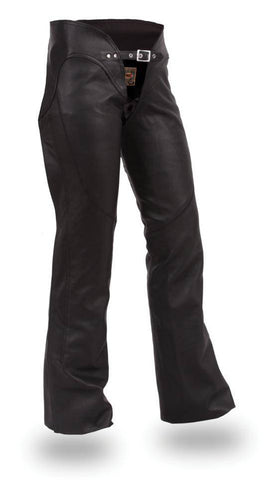 Sissy | Women's Soft Milled Cowhide Leather Chaps - Stofma  Hub