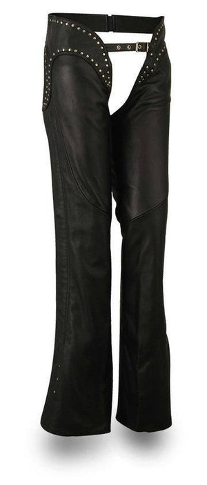 Riser | Women's Soft Naked Cowhide Leather Chaps