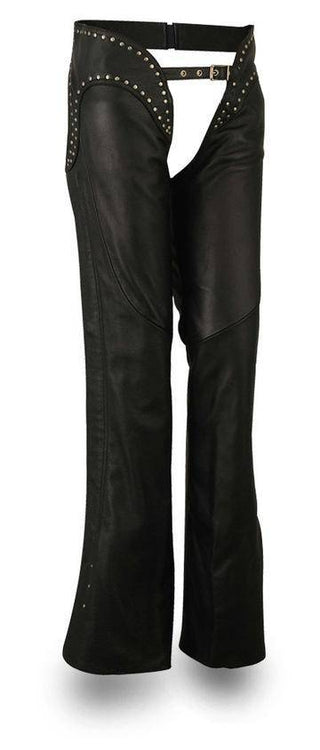 Riser | Women's Soft Naked Cowhide Leather Chaps - Stofma  Hub