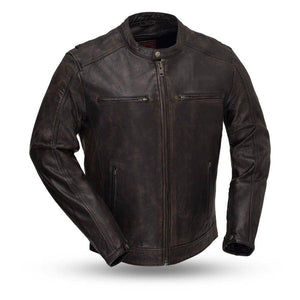 Hipster | Lightweight Distressed Armored Jacket