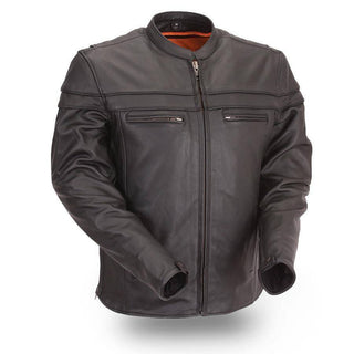 The Maverick | Men's Classic Scooter Jacket - Stofma  Hub