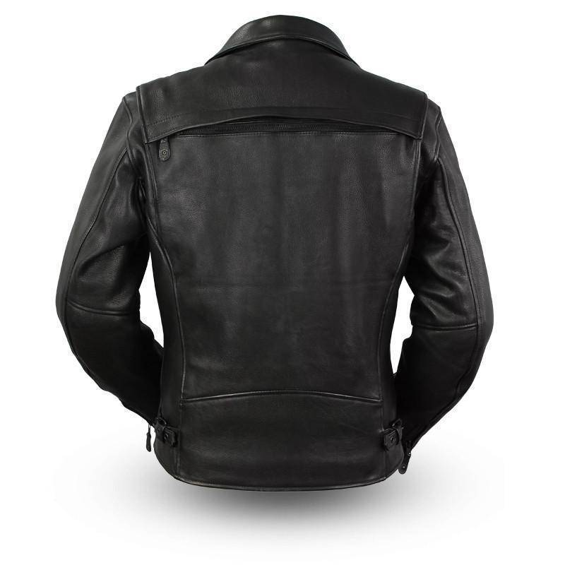 Night Rider | 1.4mm Platinum Leather Jacket