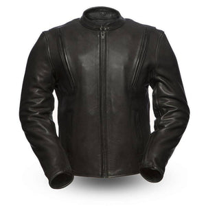 Revolt | 1.4mm Platinum Leather Jacket