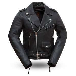 Rock Star | Classic Ladies Biker Jacket