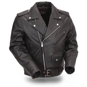 Superstar | Men's Classic Motorcycle Jacket - Stofma  Hub