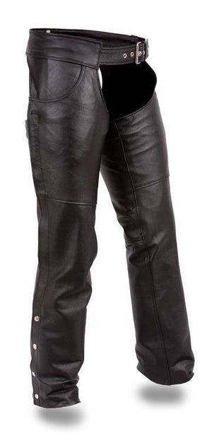 Rally | Milled Cowhide Leather Chaps