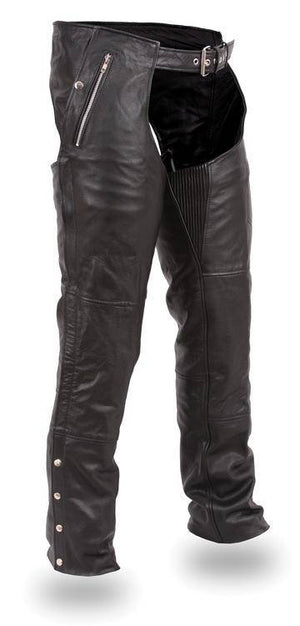 Patriot | Men's Soft Milled Cowhide Leather Chaps