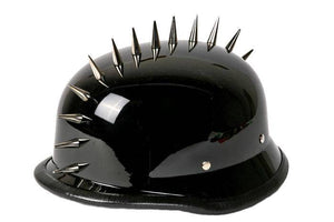 German Novelty Helmet With Spikes | Novelty