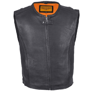 Mens Speedster Motorcycle Club Vest - Stofma  Hub