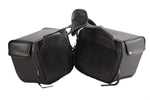 Motorcycle Saddlebag With 4 Tie Down Ribbons - Stofma  Hub
