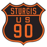 Sturgis US 90 Die-Cut Sign - Stofma  Hub