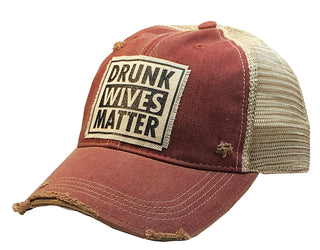 Drunk Wives Matter Trucker Hat - Stofma  Hub