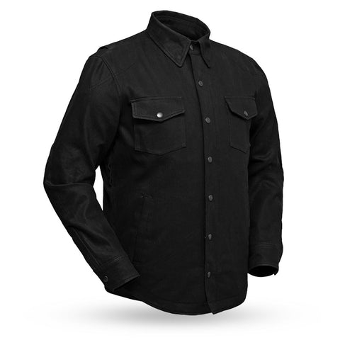 Equalizer | Men's Motorcycle Denim Jacket With Kevlar Reinforcements - Stofma  Hub
