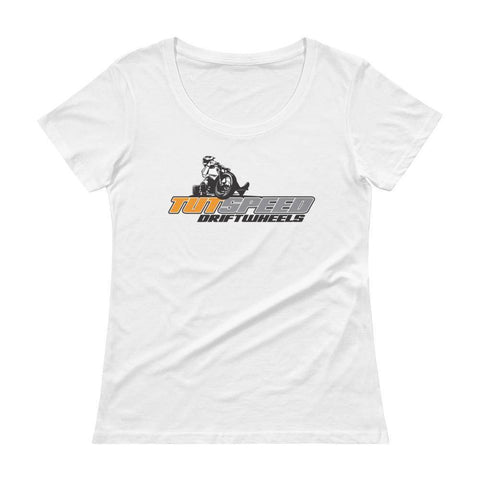 TUTSPEED Ladies' Scoopneck T-Shirt