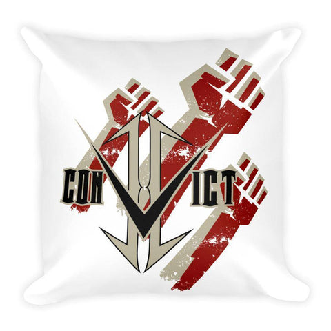 Convict Fist Square Cell Pillow - Stofma  Hub