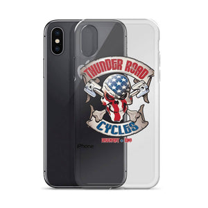 Thunder Road Cycles iPhone Case - Stofma  Hub