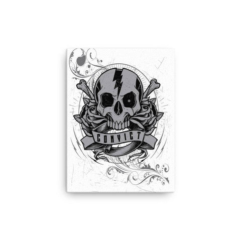 Convict Customz Skull Canvas - Stofma  Hub