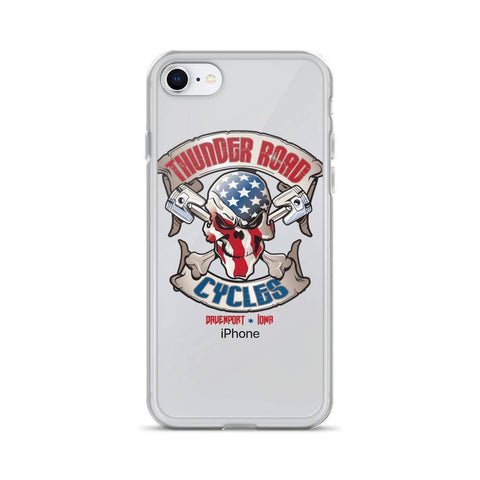 Thunder Road Cycles iPhone Case