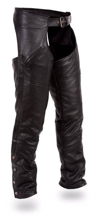 Nomad | Milled Cowhide Leather Chaps