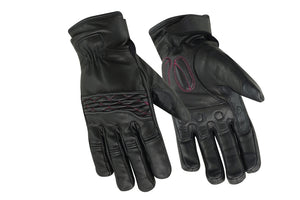 Women's Cruiser Glove  (Black/Pink)