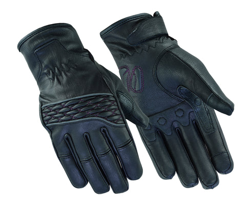 Women's Cruiser Glove (Black / Purple)