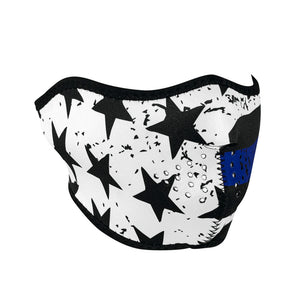 ZAN Half Mask- Neoprene- Thin Blue Line