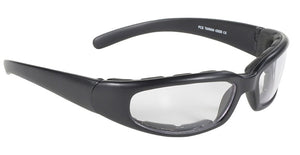 Rally Wrap Padded Blk Frame/Clear Lens