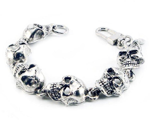 Monster Skull Chain Bracelet