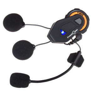 FreedConn T-Max 1000M Bluetooth Motorcycle Helmet Intercom Headset FM | Up To 6 Riders