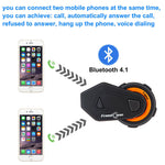 FreedConn T-Max 1000M Bluetooth Motorcycle Helmet Intercom Headset FM | Up To 6 Riders - Stofma  Hub