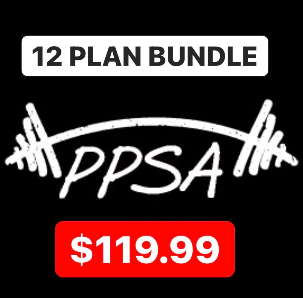 PPSA BUNDLE- TWELVE STRENGTH PLANS