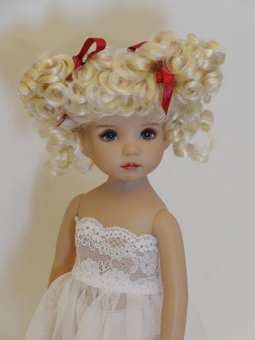 Abby Wig in Honey Blonde - for Little Darling dolls