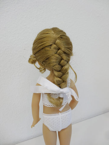 Amber Wig in Blonde - for Little Darling dolls