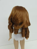 Andrea Wig in Auburn - for Little Darling dolls