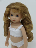 Andrea Wig in Light Strawberry Blonde - for Little Darling dolls