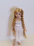 Anna Wig in Medium Gold Blonde - for Little Darling dolls
