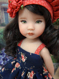Autumn Beauty - dress, hat, socks & shoes for Little Darling Doll or 33cm BJD