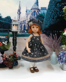 Autumn Shadows - dress, sweater, hat, tights & shoes for Little Darling Doll or 33cm BJD
