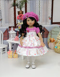 Baby Bunny Pink - dress, hat, tights & shoes for Little Darling Doll