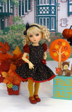 Back to School - dress, tights & shoes for Little Darling Doll