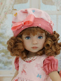 Ballet Slippers - jumper, romper, hat, socks & shoes for Little Darling Doll