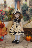 Bat Wings - dress, hat, tights & shoes for Little Darling Doll or 33cm BJD