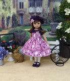 Beautiful Bunny - dress, hat, tights & shoes for Little Darling Doll or 33cm BJD