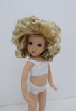 Belle Wig in Light Peach Blonde & Ginger Brown - for Little Darling dolls