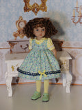 Berry Sweet - jumper, blouse, tights & shoes for Little Darling Doll